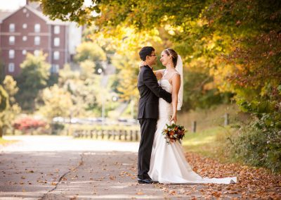 An Autumn Church Wedding in Granville, Ohio – Athena & Kenny
