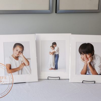 8x10 Mounted & Matted Gift Prints