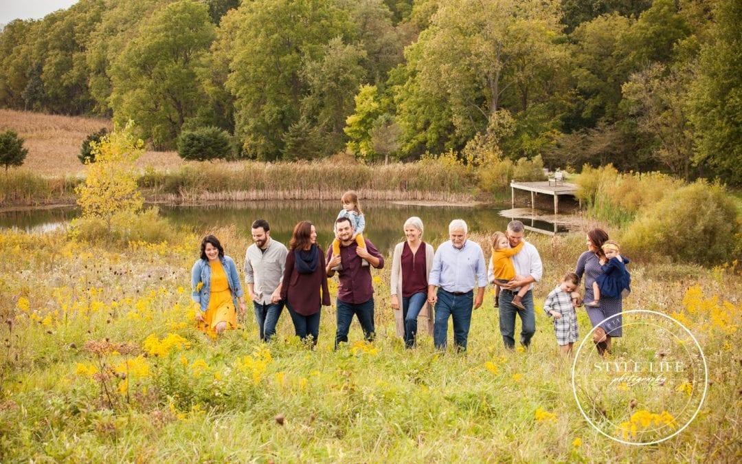Autumn Extended Family Session – Radabaugh's