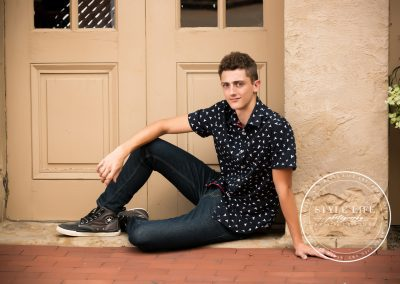Casual Outdoor Senior Photos – CJ